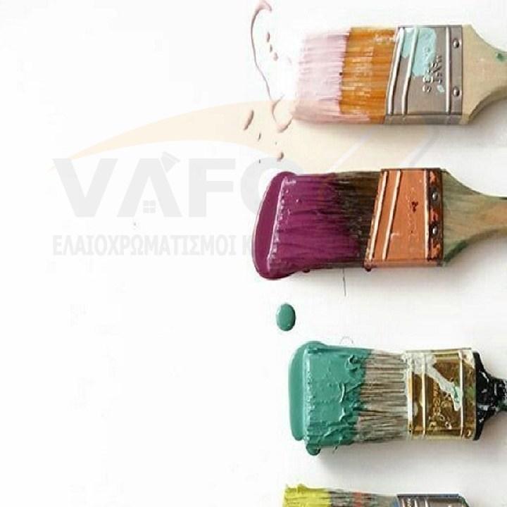 Συντήρηση Ελαιοχρωματισμός  Βάψιμο
